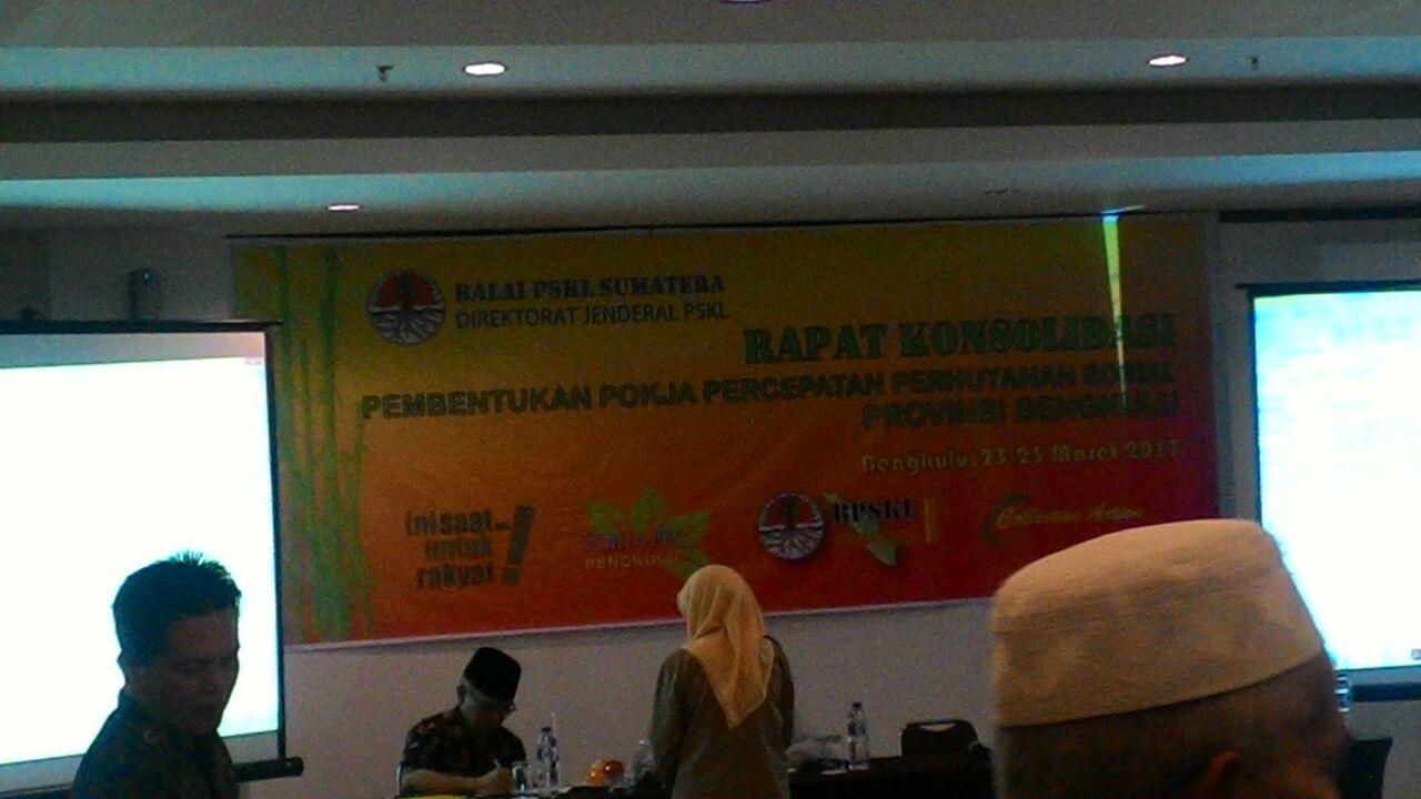 Konsolidasi Pembentukan Pokja Perhutanan Sosial Kab. Bengkulu_Adi Bengkulu