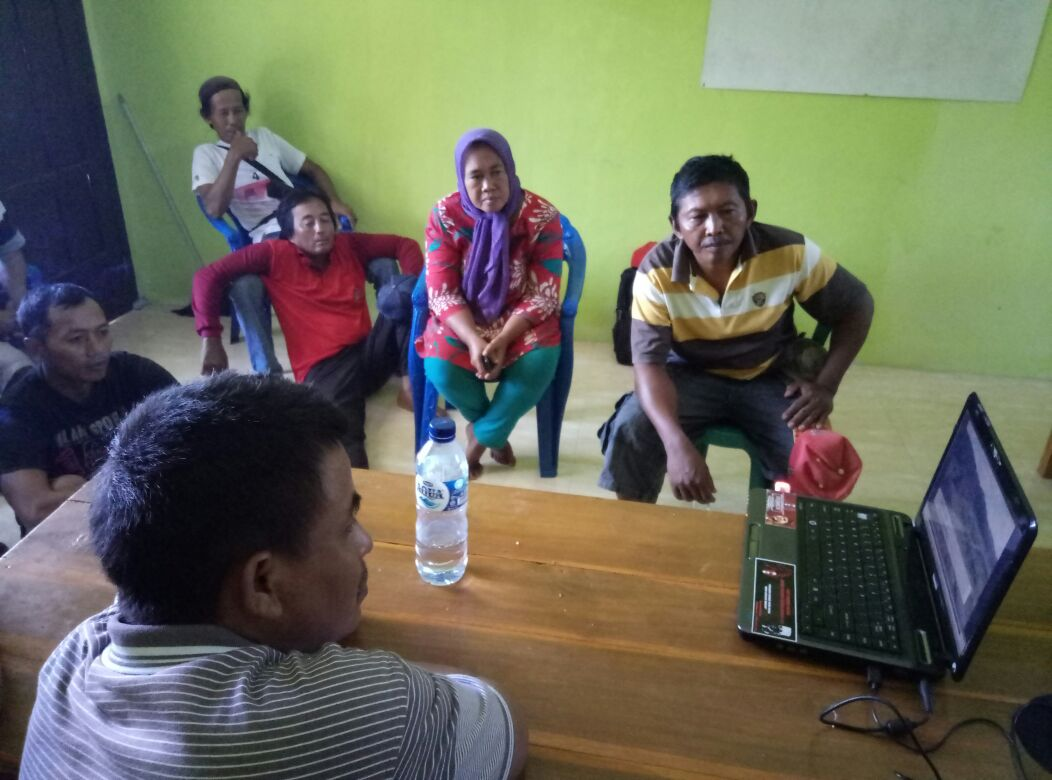 Pengolahan Data Hasil Pemetaan6_ Kegiatan SLPP Jatim Photo by Ubed Anom