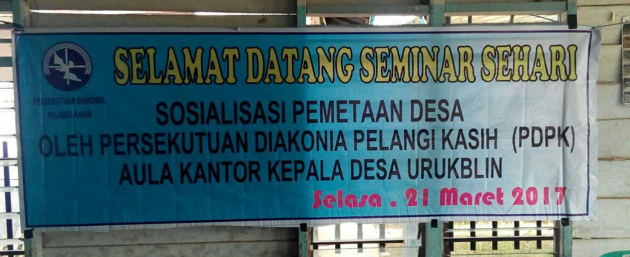 Seminar Sosialisasi Pemetaan Desa _Faizal_SLPP_Sumut