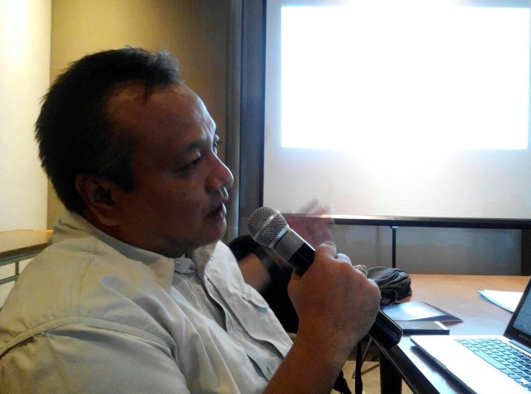 Deny Rahadian membuka Renstra JKPP 2017-2021