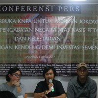 Konferensi Pers KNPA