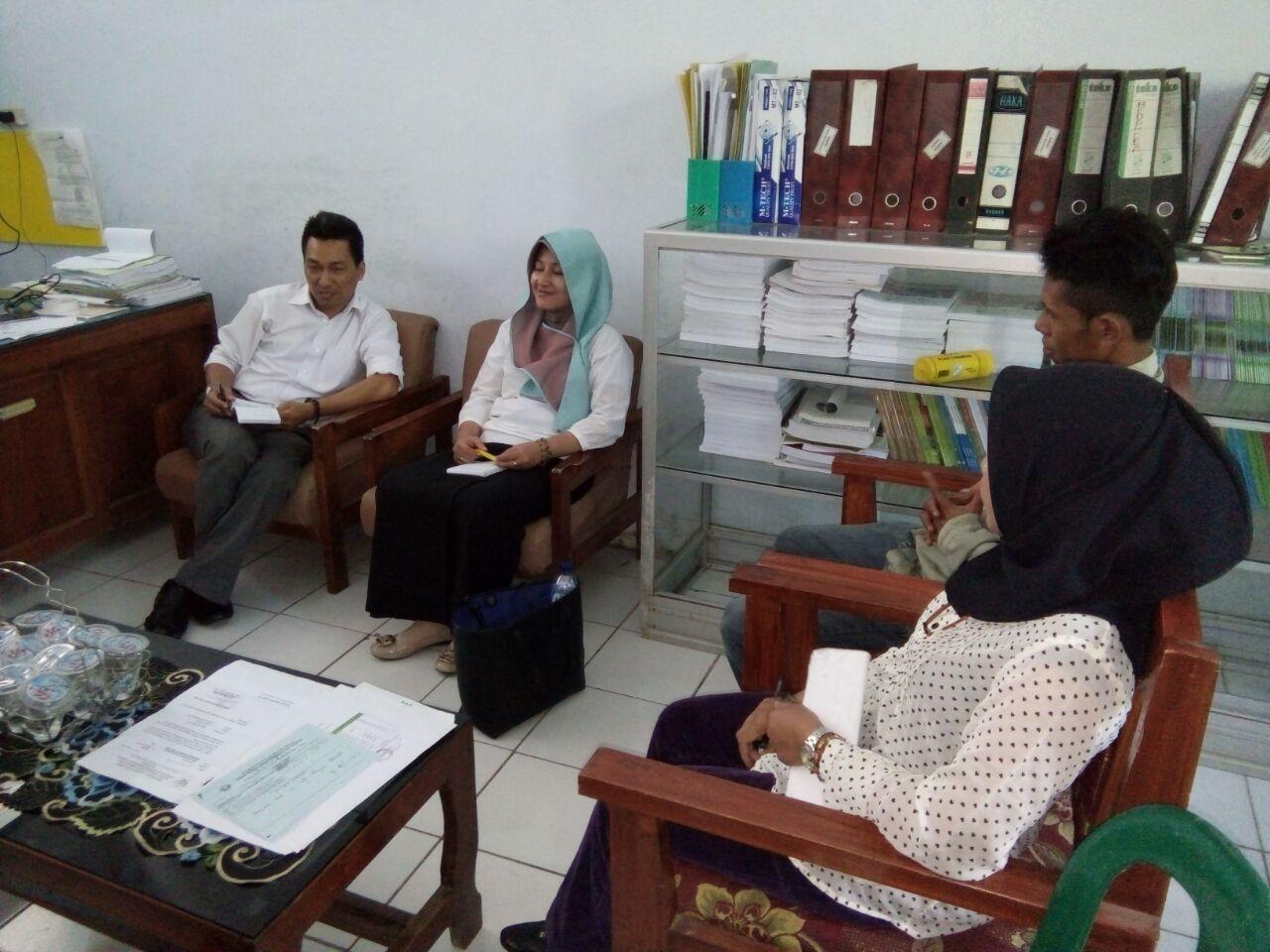 Konsolidasi SLPP bersama Bappeda Kabupaten BIMA