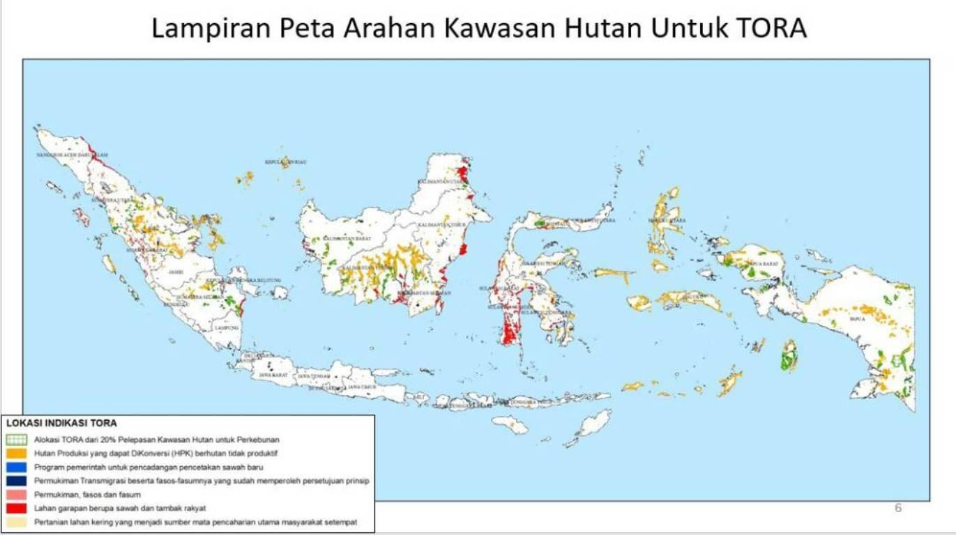 Lampiran_ Peta Arahan Kawasan Hutan Untuk TORA
