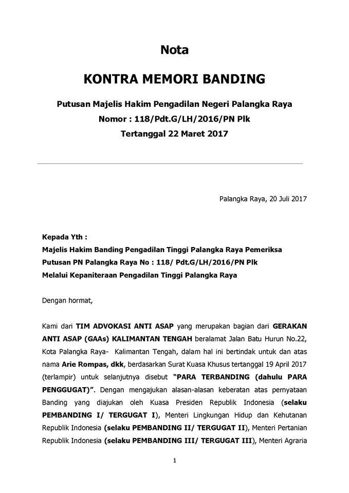 Kontra Memori Banding