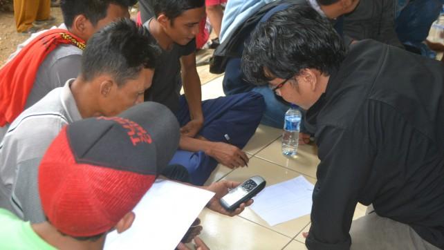 JKPP Fasilitasi Pemetaan Calon Areal IPHPS di Telukjambe, Karawang