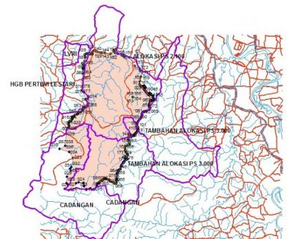 peta pengajuan IPHPS Telukjambe