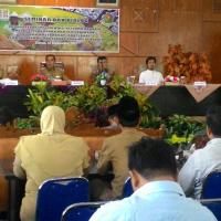 Suasana Seminar dan Diskusi Reforma Agraria di Kabupaten Rejang Lebong, Bengkulu
