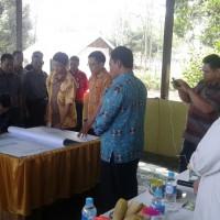 Launching Pemetaan Partisipatif batas desa Kecamatan Maliku dan Pandih Batu, Kalteng