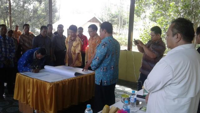 Bupati Pulang Pisau Dukung Pemetaan Partisipatif Batas Desa