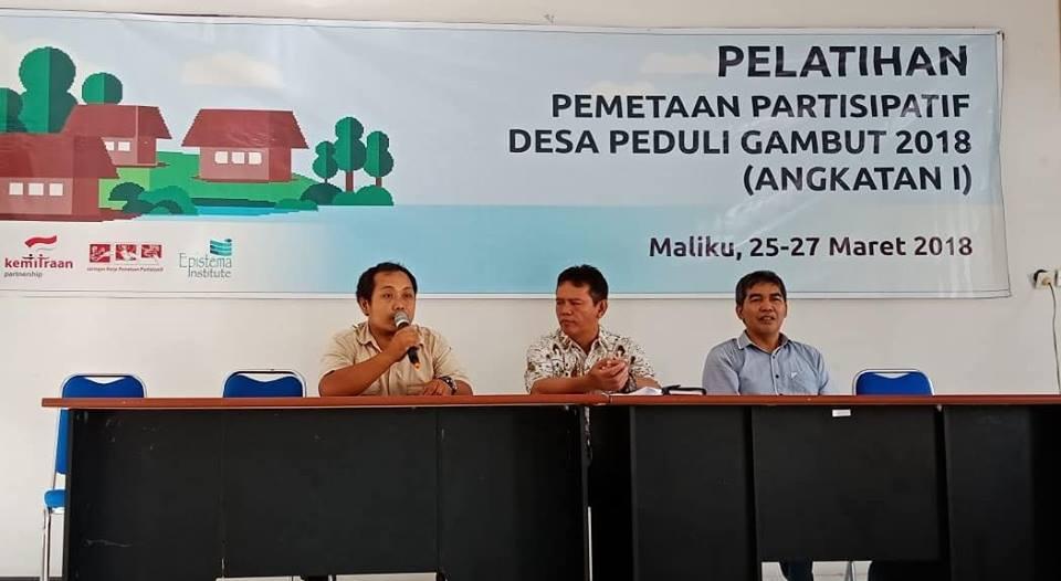 JKPP Fasilitasi Pemetaan Partisipatif Desa Peduli Gambut