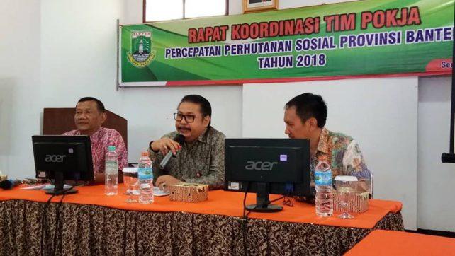 Rakor Pokja PPS Banten, Siapkan Areal Perhutanan Sosial