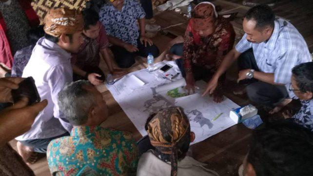 Inovasi Desa, Warungbanten Gelar Pemetaan Partisipatif