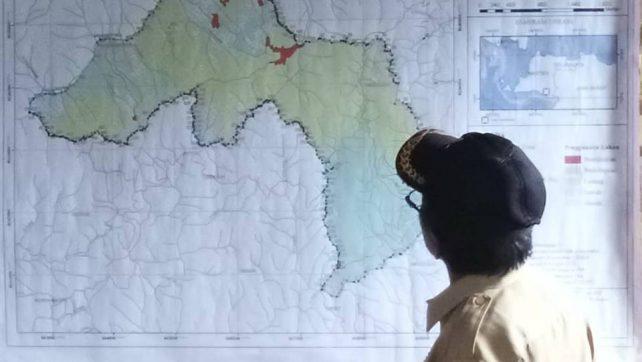 Desa Warungbanten Susun Peta Perencanaan Tata Guna Lahan Desa