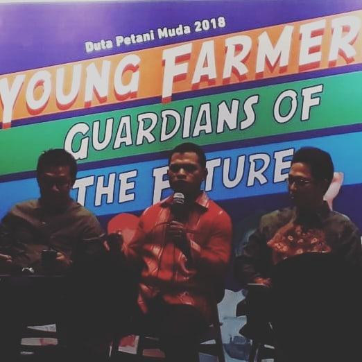 Gustianus Sino, duta petani muda 2018