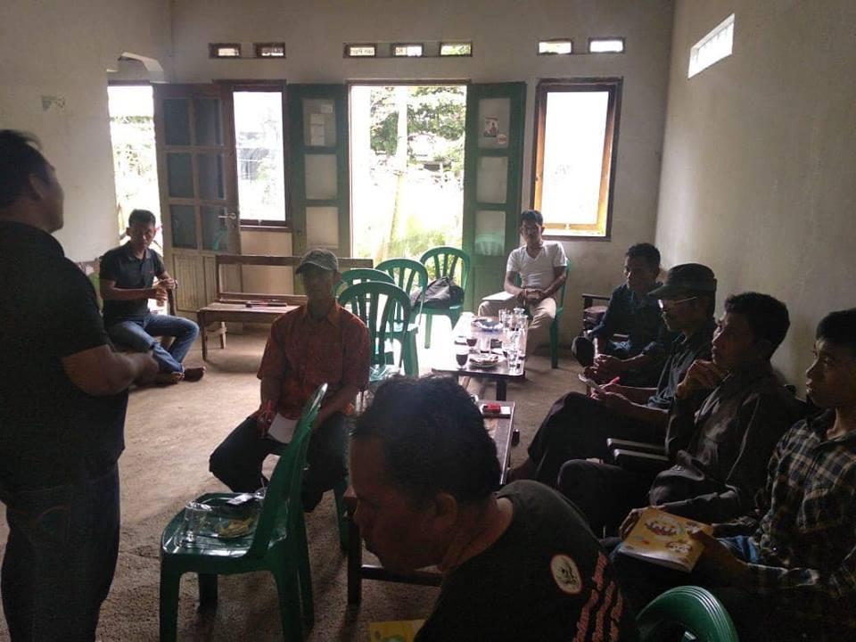 Warga Desa Bulupayung Patimuan Lakukan Pemetaan Partisipatif Usulan TORA Secara Swadaya