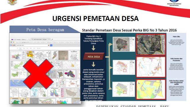 Pemetaan Desa Untuk Percepatan Pembangunan Desa dan Kawasan