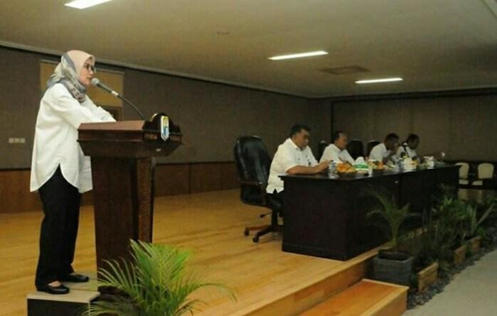 Bupati Lebak, Iti jayabaya Membuka Workshop Pemetaan Partisipatif di Kab. Lebak
