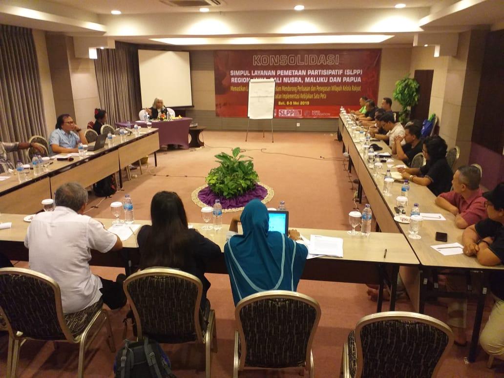 Konsolidasi SLPP Jawa Bali Nusra Maluku dan Papua