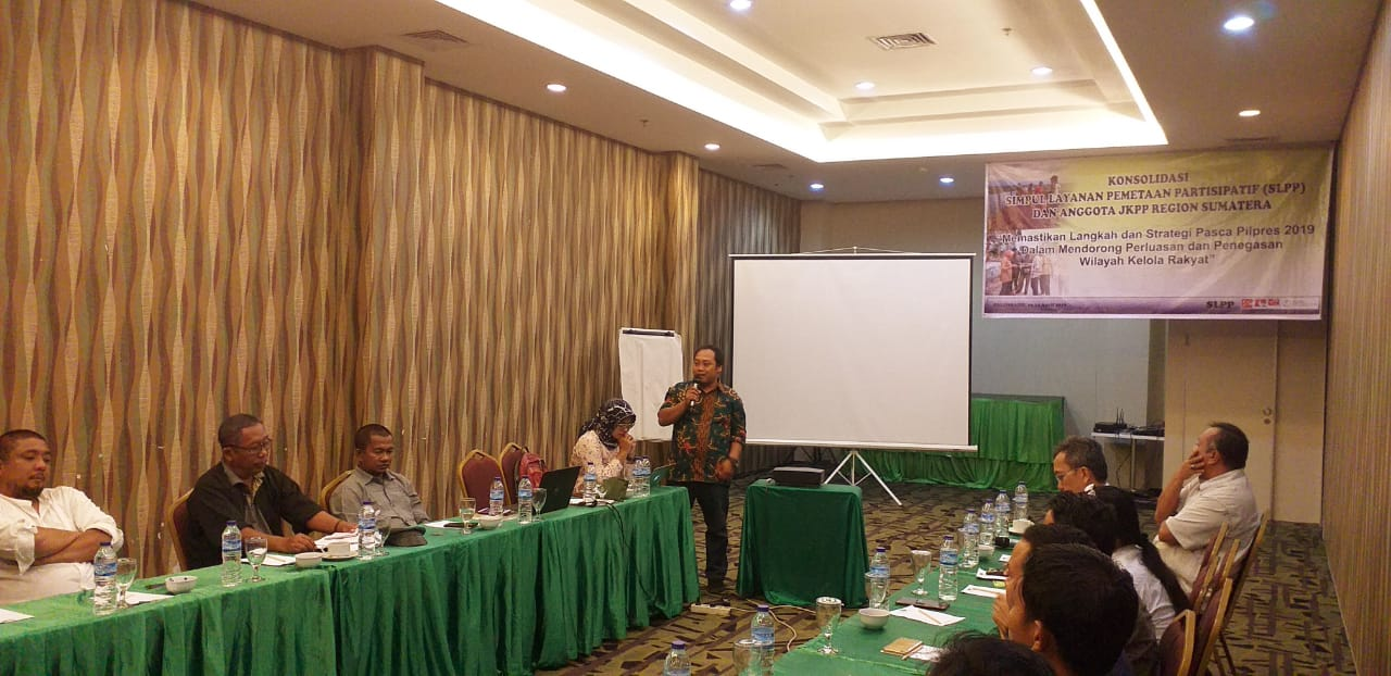 Konsolidasi SLPP Region Sumatera (23-24 Aprl 2019)