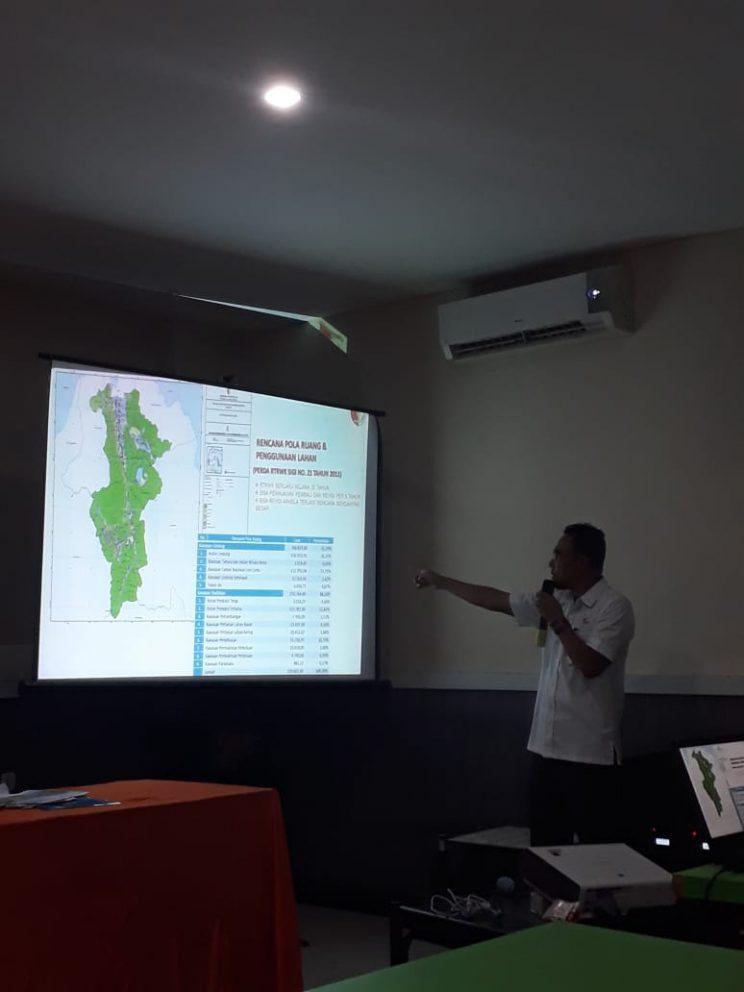 Workshop Sosialisasi dan Pelatihan Perencanaan Tata Guna Lahan Berkelanjutan Berbasis Mitigasi Bencana di Kabupaten Sigi, Sulawesi Tengah