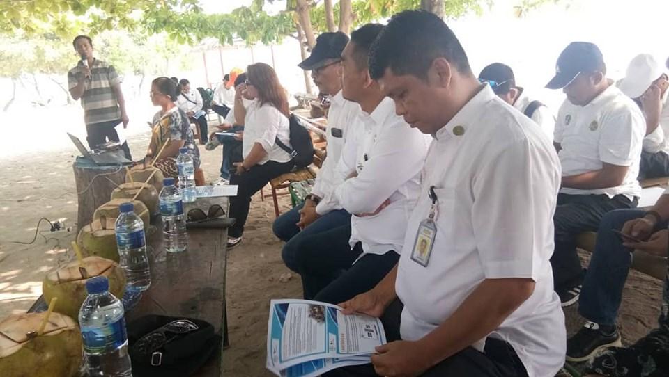 Sulaiman, saat menyampaikan usulan Reforma Agraria Pulau Pari