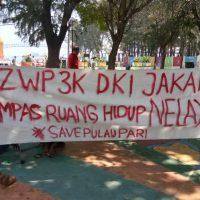 Nelayan Pulau Pari Menolak Ranperda RZWP3K DKI Jakarta