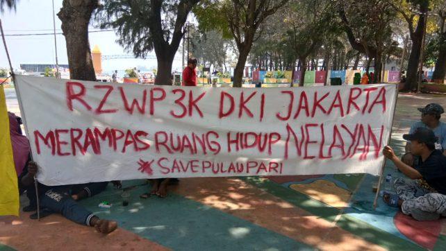 Nelayan Pulau Pari Menolak Ranperda RZWP3K DKI Jakarta, Ini Alasannya