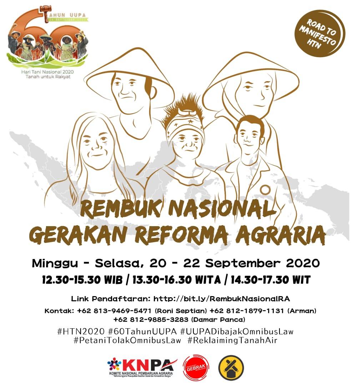 Rekbug Nasional Gerakan Reforma agraria