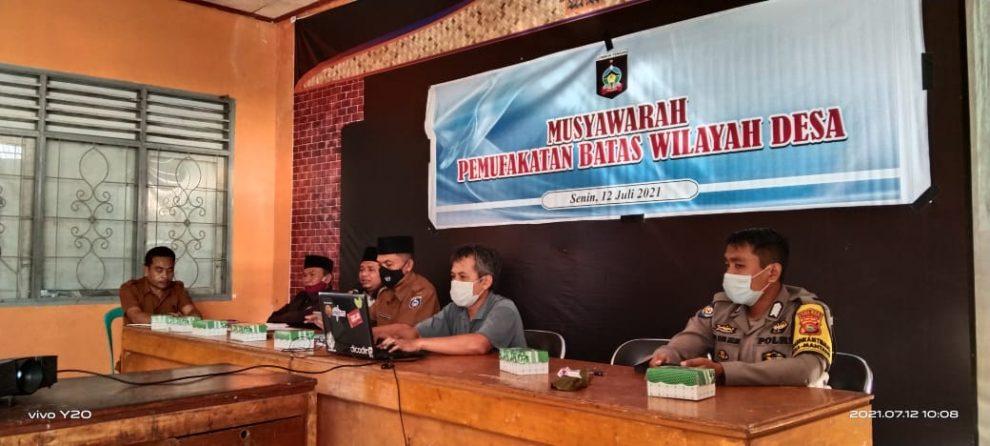 Pemetaan Partisipatif Batas Desa di Desa Mantang Batukliang Lombok Tengah (2)