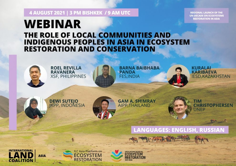 The Role of Local Communities and Indigenous Peoples in Asia in Ecosystem Restoration and Convervation